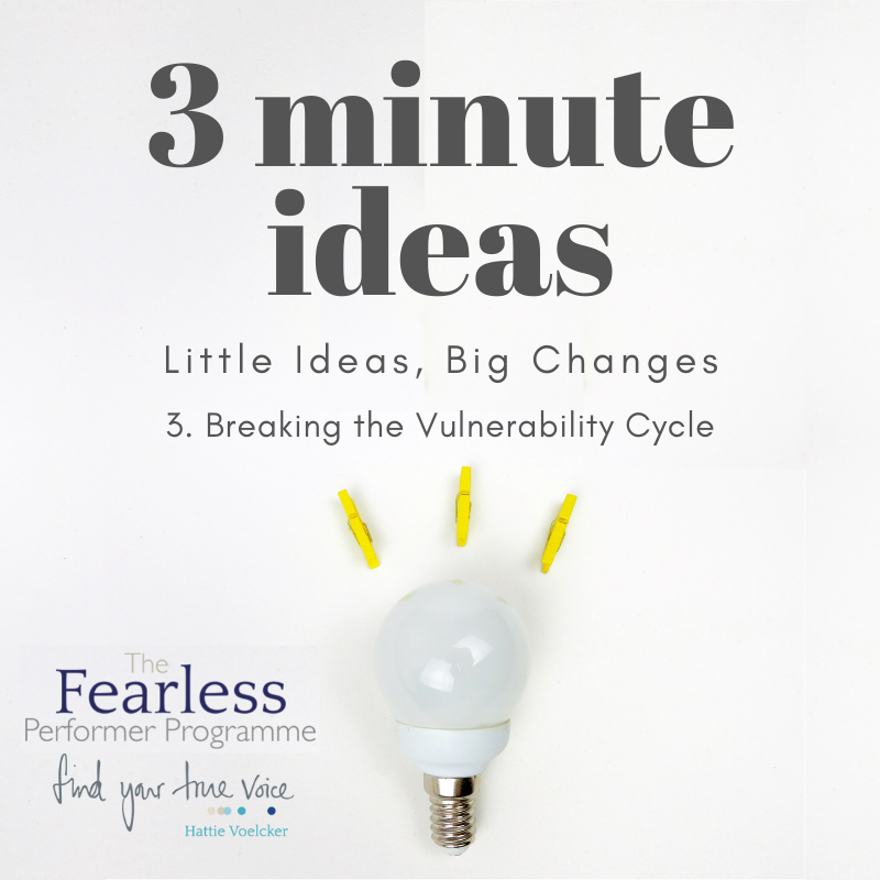 Breaking the Vulnerability Cycle